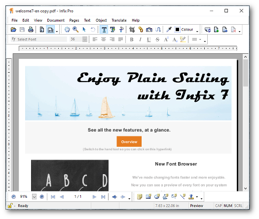 Infix PDF Editor | Iceni Technology Products