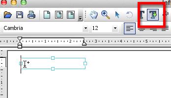 Text Plus on Toolbar