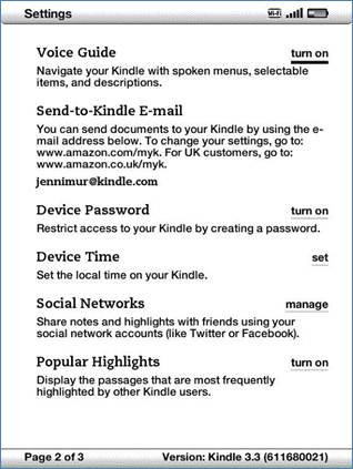 To how pdf kindle to a document