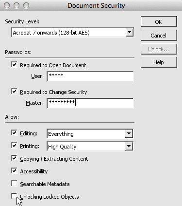 remove security in pdf online