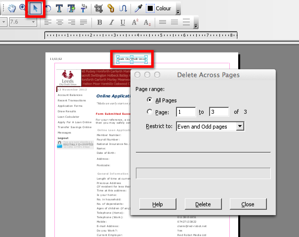 DELETE PAGES FROM PDF FOXIT PDF DOWNLOAD