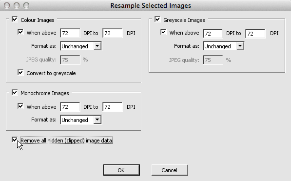 how to reduce the size of a pdf file