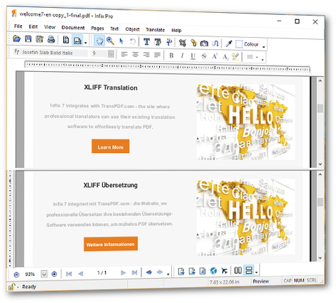 ـ برنامج محرر ملفات وكتب بى دى اف Infix PDF Editor Pro 7.0.5 translation-a-drop-s