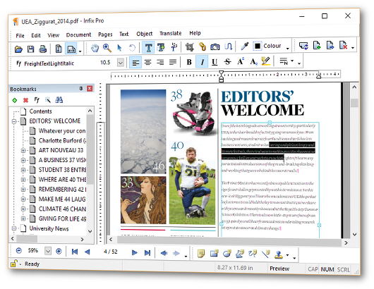 ـ برنامج محرر ملفات وكتب بى دى اف Infix PDF Editor Pro 7.0.5 window-editors-persp