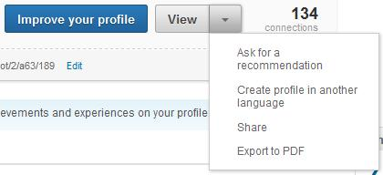 linkedin has resume export and companies are requesting it