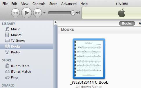 how to copy pdf books to iphone